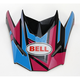 Blue/Pink Replacement Visor for the SX-1 Race Helmet - 7071389