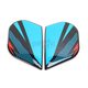 Blue/Red Primary Alliance GT Sideplates - 0133-0913