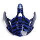 Blue Dazzle FX-39DS Dual Sport Visor - 0132-0995