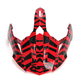 Red Dazzle FX-39DS Dual Sport Visor - 0132-0996