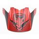 Flat Red/Black Visor for HJC CS-MX 2 Squad Helmets - 60-4032A