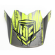 Hi-Vis Green/Black Visor for HJC CS-MX 2 Squad Helmets - 60-4032C