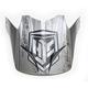 Gray/Black Visor for HJC CS-MX 2 Squad Helmets - 60-4032E