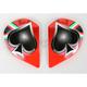 Fabrizio Pivot Covers for Suomy Helmets - KAAP0G07