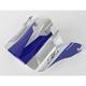 Blue Visor for Z1R Roost Volt Helmets - 0132-0586