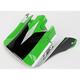 Green Visor for Z1R Roost Volt Helmets - 0132-0591
