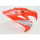 Orange Visor for Variant Hi Viz Helmets - 0132-0596