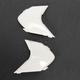 White Sideplates for Variant Helmets - 0133-0701