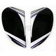 Purple Salient Airmada Sideplates - 0133-0721