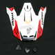 Red Visor Kit for Thor Verge Helmets - 0132-0730