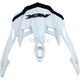 Pearl White FX-41DS Visor - 0132-0778