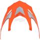 Safety Orange FX-55 Visor - 0132-0787