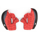 Red FG-X Helmet Cheek Pads