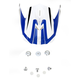 Blue/White FX-21 Alpha Visor - 0132-0855