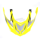 Hi-Vis Yellow Multi FX-55 Visor - 0132-0869