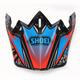 Red/Blue/Black VFX-W Maelstrom TC-1 Helmet Visor - 0245-6085-01