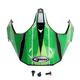 Black/Green/White Visor for GM11S Sport/Nova Helmets - 72-3362