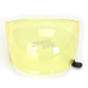 Yellow Bubble Shield with Black Tab for Bullitt Helmets - 8013379