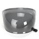 Dark Smoke Bubble Shield with Black Tab for Bullitt Helmets - 8013382