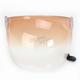Gradient Amber Bubble Shield with Black Tab for Bullitt Helmets - 8013383