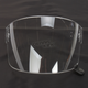 Clear Flat Shield with Black Tab for Bullitt Helmets - 8013377