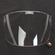 Clear Flat Shield with Brown Tab for Bullitt Helmets - 8013386