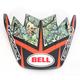 Red/Black/Green Visor for Moto-9 Tagger Rekluse Helmet - 8031063