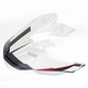 White/Black Visor for MX-9 Adventure Barricade Helmets - 8031096