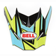 Blue/Black/Hi-Vis Yellow Visor for SX-1 Stack Helmet - 8031114