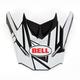 Matte Black/White Visor for SX-1 Stack Helmet - 8031115