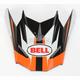 Orange/Black/White Visor for SX-1 Storm Helmet - 8031121