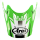 Green/White/Black Visor for VX-Pro 4 Tip Helmet - 811074