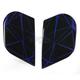 Blue Alliance Crysmatic Sideplates - 0133-0850