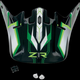 Black/Green Roost SE Visor - 0132-0907