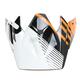 Black/Orange Roost SE Visor - 0132-0908