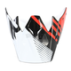 Black/Red Roost SE Visor - 0132-0909