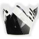 Black/White Roost SE Visor - 0132-0910