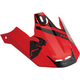 Red/Black Converge Visor Kit - 0132-0921