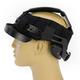 Black CL-Ironroad Half Helmet Liner