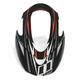 Carbon Black Visor for Icon Variant Raiden Helmet - 0132-0922