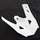 Matte White TX 707 Replacement Helmet Visor - 500091