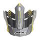 Frost Gray/Hi Vis Yellow FX-17 Factor Visor - 0132-0935