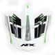 Green FX-17 Factor Visor - 0132-0939