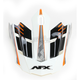 Safety Orange FX-17 Factor Visor - 0132-0940