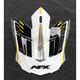 Yellow FX-17 Factor Visor - 0132-0942