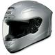 X-Twelve Light Silver Metallic Helmet