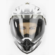 Silver Multi FX-39 Dual Sport Helmet