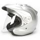 Aluminum Silver CT-Z Helmet