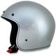 Silver Metal Flake FX-76 Helmet