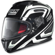 Black/White N86 Overtaking Helmet